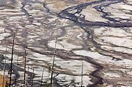 Aguas termales en Midway Geyser Basin, Yellowstone NP, Wyoming (Estados Unidos)