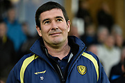 Burton Albion manager Nigel Clough during the EFL Sky Bet Championship match between Burton Albion and Hull City at the Pirelli Stadium, Burton upon Trent, England on 10 April 2018. Picture by Richard Holmes.