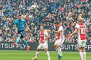 02-10-2016: Voetbal: Ajax v FC Utrecht: Amsterdam<br /> <br /> (L-R) FC Utrecht speler Kevin Conboy scoort de 1-0 tijdens het Eredivsie duel tussen Ajax en FC Utrecht op 2 oktober 2016 in stadion Arena in Amsterdam tijdens speelronde 8<br /> <br /> Eredivisie - Seizoen 2016 / 2017<br /> <br /> Foto: Gertjan Kooij