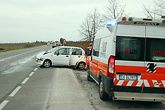 20161114 INCIDENTE SCONTRO AUTO MONESTIROLO