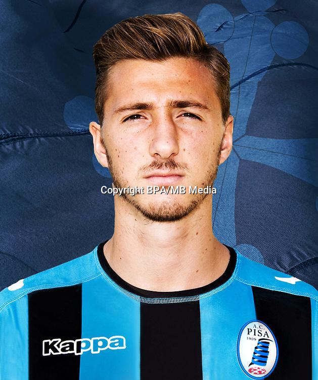 Italian League Serie B -2016-2017 / <br /> ( A.C. Pisa 1909 ) - <br /> Dario Del Fabro