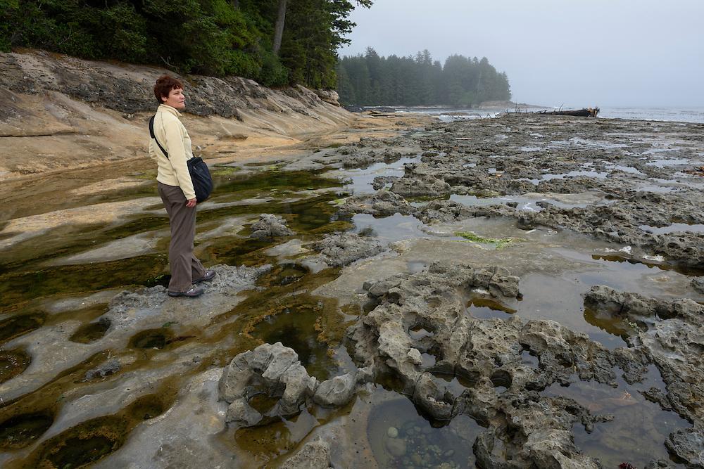 Canada, British Columbia, Vancouver Island,Port Renfrew, Juan deFuca Provincal Park, Botanical Beach Park, MR 0009