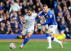 Eden Hazard of Chelsea in action  - Mandatory byline: Matt McNulty/JMP - 07966386802 - 12/09/2015 - FOOTBALL - Goodison Park -Everton,England - Everton v Chelsea - Barclays Premier League