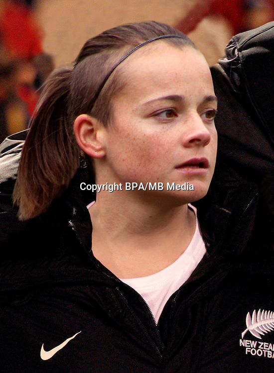 Fifa Woman's Tournament - Olympic Games Rio 2016 -  <br /> New Zealand National Team - <br /> Ria Percival