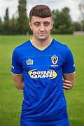 Anthony Hartigan during the AFC Wimbledon Photocall 2017 at the Kings Sports Ground, New Malden, United Kingdom on 1 August 2017. Photo by Shane Healey.
