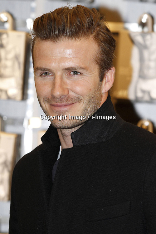 David Beckham attends David Beckham Presents Bodywear for H&M in at the H&M Berlin, Berlin, Germany, 19 March, 2013.. Photo by Imago / i-Images...UK ONLY.