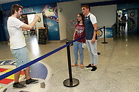 Getafe CF's new player Mauro Arambarri with the supporters during his official presentation.  August 10, 2017. (ALTERPHOTOS/Acero)