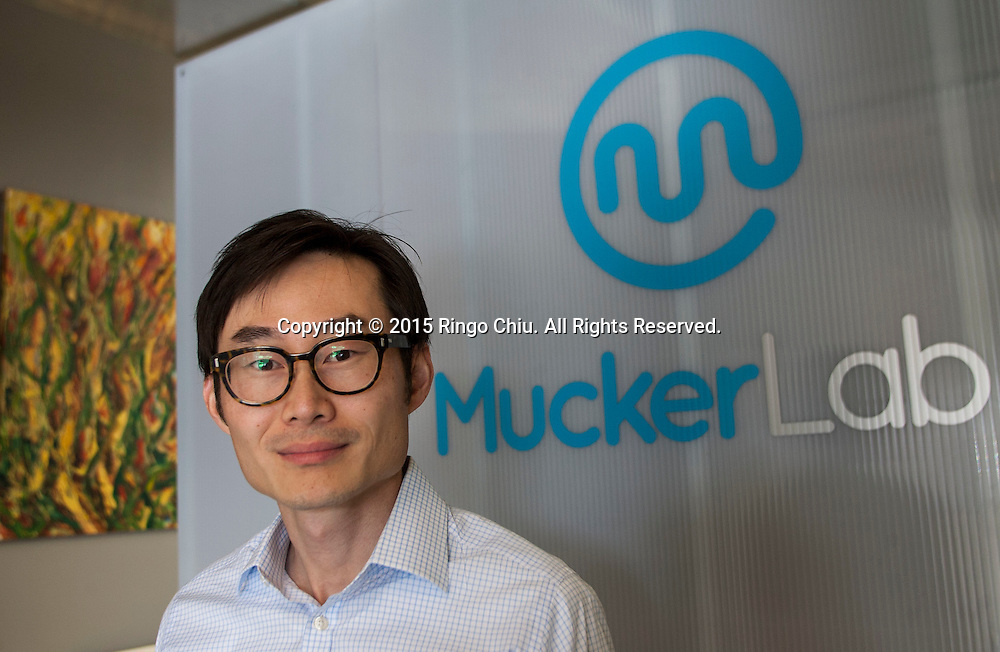 William Hsu, co-founder Mucker Capital.<br /> (Photo by Ringo Chiu/PHOTOFORMULA.com)