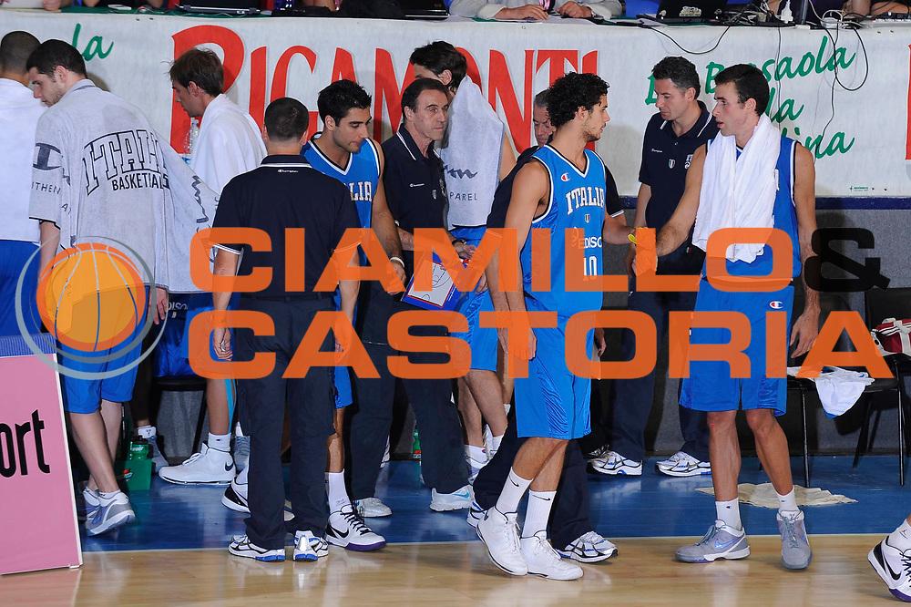 DESCRIZIONE : Bormio Torneo Internazionale Maschile Diego Gianatti Italia Senegal<br /> GIOCATORE : team<br /> SQUADRA : Italia Italy<br /> EVENTO : Raduno Collegiale Nazionale Maschile <br /> GARA : Italia Senegal<br /> DATA : 17/07/2009 <br /> CATEGORIA : team<br /> SPORT : Pallacanestro <br /> AUTORE : Agenzia Ciamillo-Castoria/G.Ciamillo