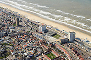 Nederland, Noord-Holland, Zandvoort, 09-04-2014; boulevard en strand.<br /> luchtfoto (toeslag op standard tarieven);<br /> aerial photo (additional fee required);<br /> copyright foto/photo Siebe Swart