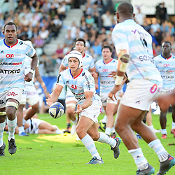 Patrick Lambie of Racing 92 during the European Rugby Champions Cup match between Racing 92 and Leicester Tigers on October 14, 2017 in Colombes, France. (Photo by Dave Winter/Icon Sport)