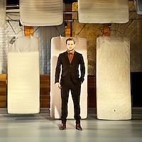 Nederland, Haarlem, 20-03-2012.<br /> Teun Luijkx, acteur, die in het stuk &quot; De ziekte die jeugd heet&quot; van Ferdinand Bruckner.<br /> Foto : Klaas Jan van der Weij