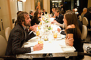 ANDREAS KRONTHALER; AMANDA SHEPPARD, Graydon Carter hosts a dinner to celebrate the reopening og the American Bar at the Savoy.  Savoy Hotel, Strand. London. 28 October 2010. -DO NOT ARCHIVE-© Copyright Photograph by Dafydd Jones. 248 Clapham Rd. London SW9 0PZ. Tel 0207 820 0771. www.dafjones.com.