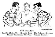 The Hasty Heart ; Richard Todd , Howard Marion - Crawford and Ronald Reagan