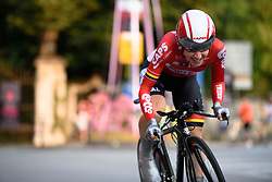 Anisha Vekemans (Lotto Soudal) at Giro Rosa 2016 - Prologue. A 2 km individual time trial in Gaiarine, Italy on July 1st 2016.