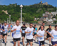 Charity fun run, Paseo Eduardo Chillida, San Sebastian, Donostia, Spain, May, 2015, Playa de Ondarreta, 201505100978<br />