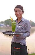 Deck 1 Restaurant & Bar at Ping River, Chiang Mai, Thailand