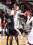 January 23, 2014: The Texas A&M International University Dustdevils play against the Oklahoma Christian University Eagles in the Eagles Nest on the campus of Oklahoma Christian University.