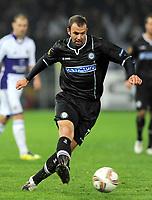 Fotball<br /> Østerrike<br /> Foto: Gepa/Digitalsport<br /> NORWAY ONLY<br /> <br /> 20.10.2011<br /> UEFA Europa League, Gruppenphase, SK Sturm Graz vs RSC Anderlecht. <br /> <br /> Bild zeigt Mario Haas (Sturm).