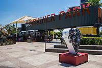 Container Park Entrance