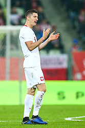 November 15, 2018 - Gdansk, Poland - Robert Lewandowski of Poland during the international friendly soccer match between Poland and Czech Republic at Energa Stadium in Gdansk, Poland on 15 November 2018. (Credit Image: © Foto Olimpik/NurPhoto via ZUMA Press)
