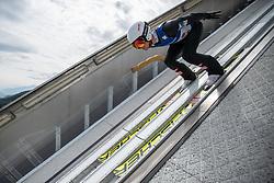 11.07.2019, Bergiselschanze, Innsbruck, AUT, Pressetermin ÖSV Ski Nordisch, Pressetermin Ski Sprung, im Bild Stefan Huber // Stefan Huber during a media Event of the Austrian Ski Association (ÖSV), jumping at the Bergiselschanze in Innsbruck, Austria on 2019/07/11. EXPA Pictures © 2019, PhotoCredit: EXPA/ Johann Groder