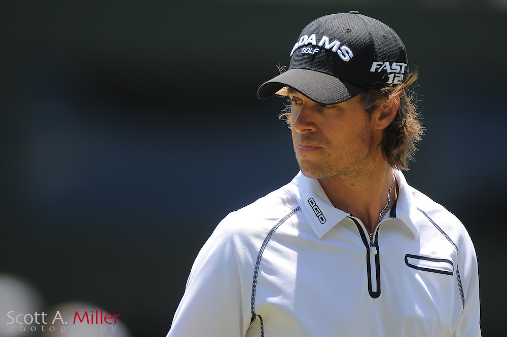 Aaron Baddeley during a practice round prior to the Players Championship at the TPC Sawgrass on May 9, 2012 in Ponte Vedra, Fla. ..©2012 Scott A. Miller.