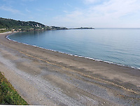 Killiney Beach in Dublin Ireland