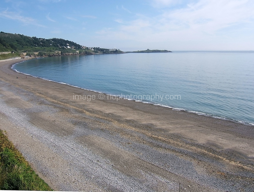 Killiney Beach in Dublin Ireland