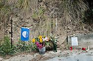 Acciaroli, Italia - 8 settembre 2010. Il luogo dove è stato ucciso il sindaco di Acciaroli Angelo Vassallo. Ph. Roberto Salomone Ag. Controluce.ITALY - The crime scene where the major of Acciaroli, Angelo Vassallo was killed on September 8, 2010.