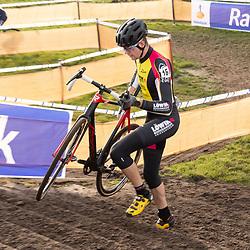 11-01-2020: Wielrennen: NK Veldrijden: Rucphen <br />Nordin Hudepol