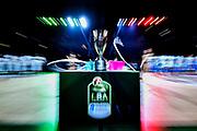 NIKON D5 • AF-S Zoom-Nikkor 14-24mm f/2.8G ED<br /> f/4.5 • ISO 200 • 1/10<br /> <br /> Coppa Trophy<br /> Umana Reyer Venezia - Happy Casa Brindisi<br /> LBA Final Eight 2020 Zurich Connect - Finale<br /> Basket Serie A LBA 2019/2020<br /> Pesaro, Italia - 16 February 2020<br /> Foto Mattia Ozbot / CiamilloCastoria