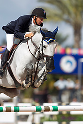 Deslauriers Mario (FRA) - Cella<br /> WEF Challenge Round III <br /> Wellington 2012<br /> © Hippo Foto - Cealy Tetly