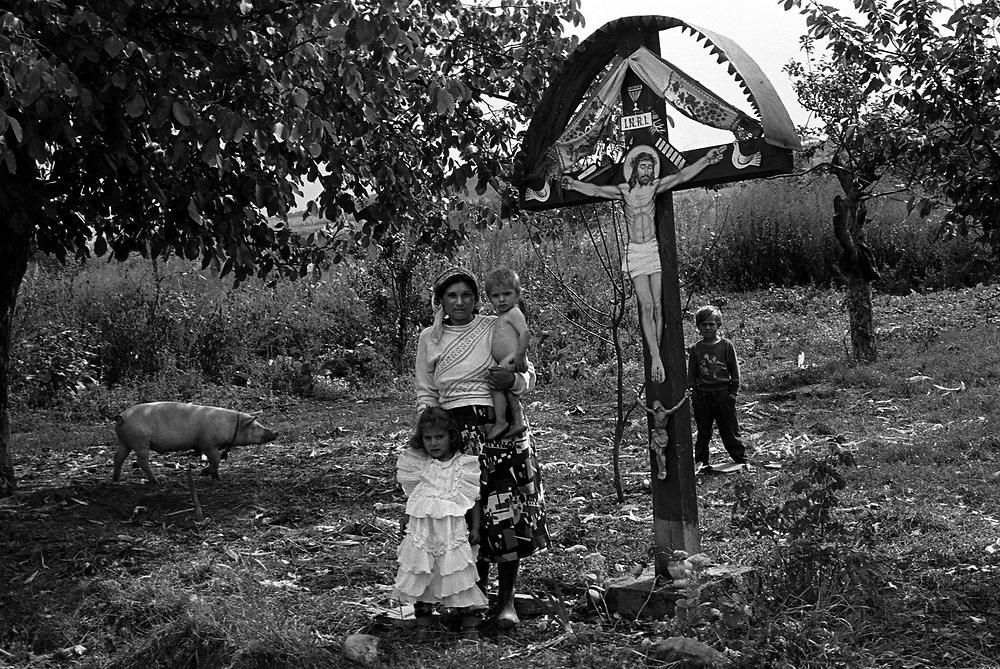 Roma community of Pintic, Transylvania Romania