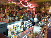 Inside of a bar NYC.