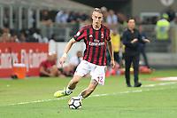 c - Milano - 27.08.2017 - Milan-Cagliari - Serie A 2a giornata   - nella foto:  Andrea Conti
