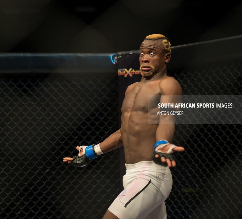 Pietie Coxen vs Sibusiso Mdoko, Lightweight, Fight 4 at EFC AFRICA 26, The Coca Cola Dome, Johannesburg.<br /> (Photo by Anton Geyser / EFC AFRICA 2013)