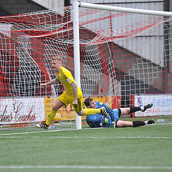 Airdrieonians v Ayr United, Scottish League One, 7 April 2018