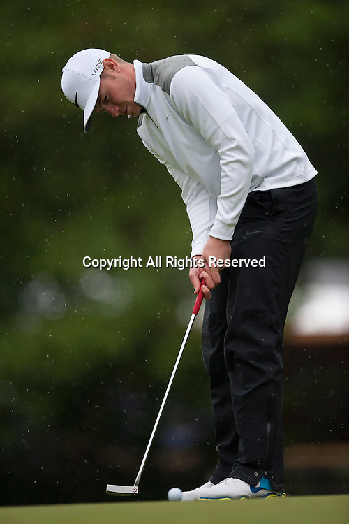 23.05.2014. Wentworth, England.  Oliver FISHER [ENG] during the second round of the 2014 BMW PGA Championship from The West Course Wentworth Golf Club