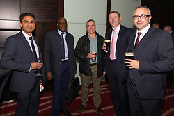 Construction industry charity The Lighthouse Club holds its Annual Christmas Lunch at the Park Plaza Westminster Bridge in London. London, December 6th 2019.<br /> Credit: ©Paul Davey<br /> Licenced exclusively to The Lighthouse Club. NO SYNDICATION<br /> Mobile: +44 (0) 7966 016 296<br /> Email: paul@pauldaveycreative.co.uk<br /> Twitter: @pauldaveycreate