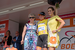Roxanne Knetemann (Rabo Liv) retains her lead in the mountains classification at the 116 km Stage 5 of the Boels Ladies Tour 2016 on 3rd September 2016 in Tiel, Netherlands. (Photo by Sean Robinson/Velofocus).