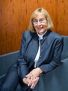 Deputy Chief Accountant of Professional Practices Zoe-Vonna Palmrose poses for a portrait at the SEC building in Washington, DC, September 7, 2007.