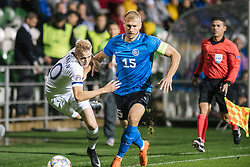 September 11, 2018 - Turku, Finland - Jasse Tuominen and Ragnar Klavan during the UEFA Nations League football match between Finland and Estonia at the Veritas Stadium in Turku, Finland on 11 September 2018. (Credit Image: © Antti Yrjonen/NurPhoto/ZUMA Press)
