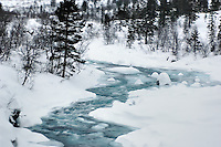 Winter Stream in Norway. Image taken with a Nikon D2xs and 28-70 mm f/2.8 lens (ISO 100, 70 mm, f/3.5, 1/50 sec)