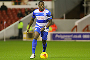 QPR defender Nedum Onuoha on the ball during the Sky Bet Championship match between Nottingham Forest and Queens Park Rangers at the City Ground, Nottingham, England on 26 January 2016. Photo by Aaron Lupton.