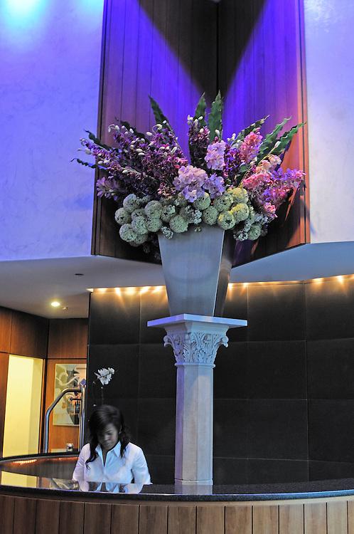 Lobby, Hotel Gansevoort, 18 9th Avenue, Meatpacking District,  Manhattan, New York, New York, USA