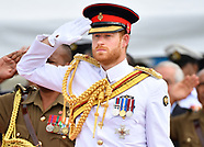 Prince Harry Visits Fiji War Memorial, Suva