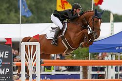 Van der Poel Vicky, BEL, La Costa<br /> Belgisch Kampioenschap Jonge Spring Paarden - Gesves 2017<br /> © Hippo Foto - Julien Counet<br /> 15/08/17