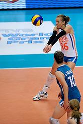 20-08-2009 VOLLEYBAL: WGP FINALS DUITSLAND - NEDERLAND: TOKYO<br /> Nederland wint ook de tweede wedstrijd. Ditmaal werd Duitelsnad met 3-2 verslagen / Debby Stam<br /> ©2009-WWW.FOTOHOOGENDOORN.NL