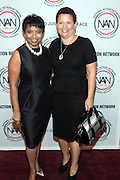 October 16, 2012-New York, NY : (L-R) Marva Smalls, EVP, MTV Networks and Debra Lee, President & CEO, BET Networks at the 3rd Annual National Action Network Triumph Awards held at Jazz at Lincoln Center on October 16, 2012 in New York City. The Triumph Awards were established by the National Action Network to recognize the contributions of humanitarians from all walks of life and to encourage future generations to drum majors for justice. (Terrence Jennings)